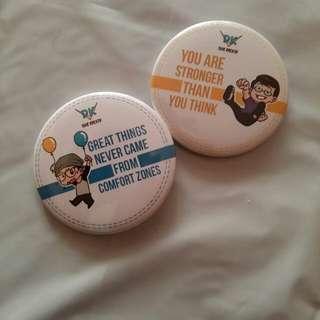 Motivation Badges (2 in 1)