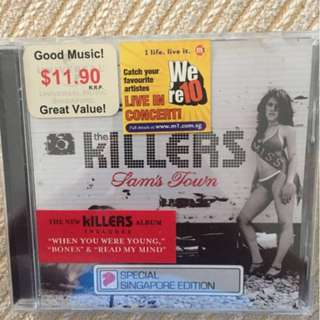 Music CD - The killers Sam's Town