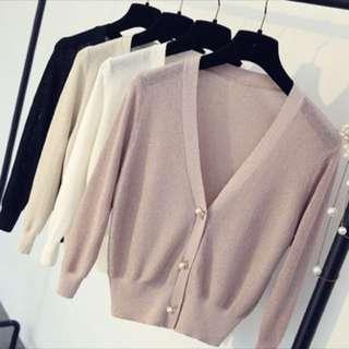 春季最新款針織小外套
