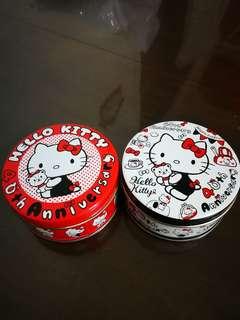 Hello Kitty 40th週年特別版鐵盒/收納盒