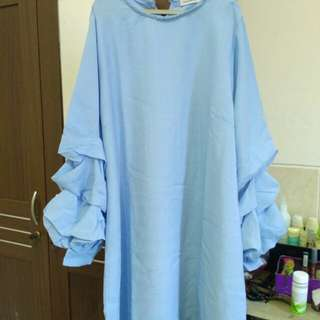 Mayoutfit Tunic baby blue