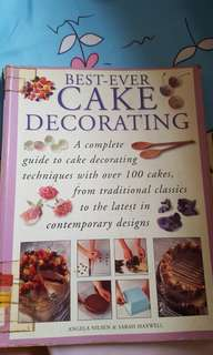 Best ever cake decorating book