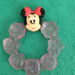 Minnie mouse teether