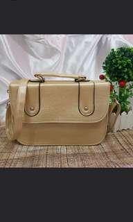 Gold satchel