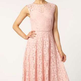 Dorothy Perkins Lace Midi Dress