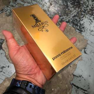 Authentic Original Paco Rabanne One Million Perfume 100ml Limited Stock First Come First Served 😎👍