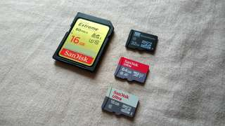 Micro SD and SD card