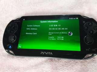Sony PSVita Phat 3.60 (henkaku ready)