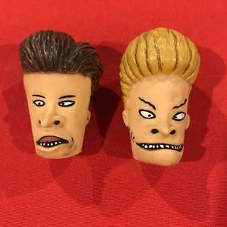 Beavis & Butthead vintage 1997 Pencil Toppers