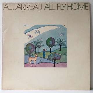 Al Jarreau ‎– All Fly Home (1978 USA Original - Vinyl is Mint)