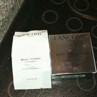 BN Lancome Blanc Expert Cushion Light coverage SPF 29/PA+++ BO-01 recharge/refill
