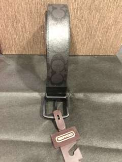 Brand new authentic Coach men belt