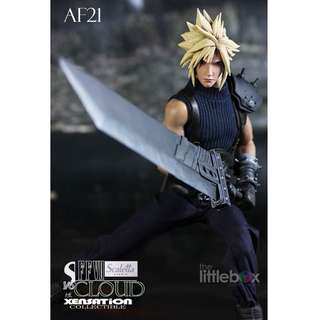 Xensation Scaletta Cloud Strife Final Fantasy AF21