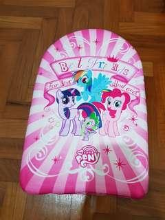 Swimming Board my little pony