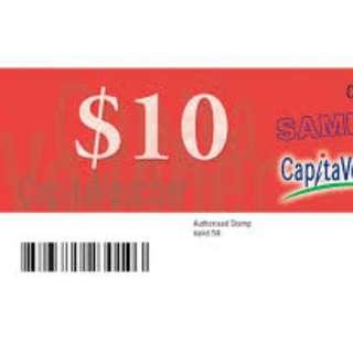 mall voucher on sales exchange ( capita ntuc suntec giant taka )