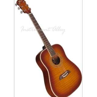 Oscar Schmidt OG1 Spruce Top 3/4 Size Kids Acoustic Guitar Natural AND Guitar Case