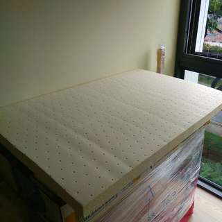 100% Babysafe Natural Latex Mattress + Cover