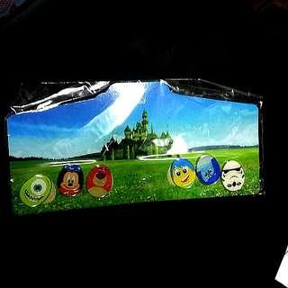 (全新)全套Disneyland 花蛋節徽章