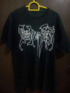 Kaos band import Deeds of flesh