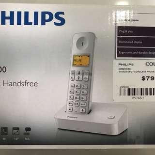 Philips D200 handsfree phone