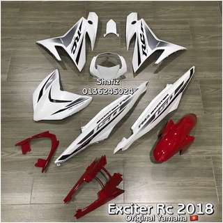 Exciter Rc 2018 Cover Set