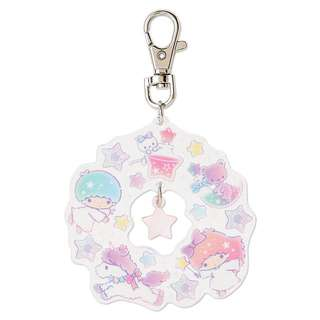 Last SET Little Twin Stars Acrylic Key Chain Holder