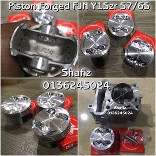 Piston forged y15zr fjn
