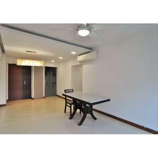 High Floor, Point Blk 4rm flat next to MRT & Mall for Sale!