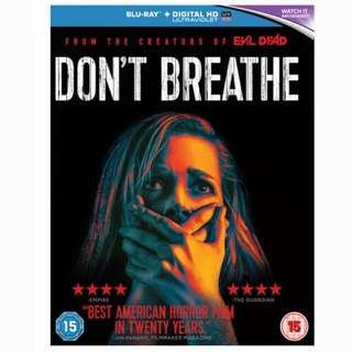 Don't Breathe (Blu Ray Unrated + Digital Hd)