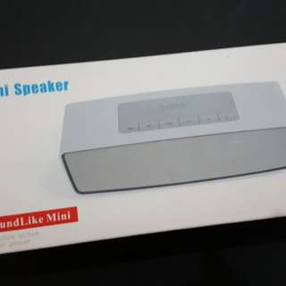 First Come First Served Wireless HKV Mini Speaker