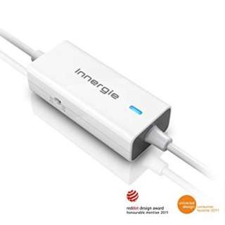 Innergie mCube Mini 90 Watt Auto/Air Power Adapter and 10W USB Output (TADP-90AB AA) - White