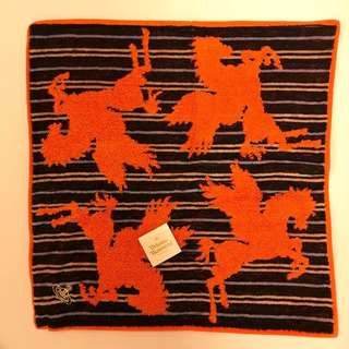 全新日本製Vivienne Westwood純棉毛巾