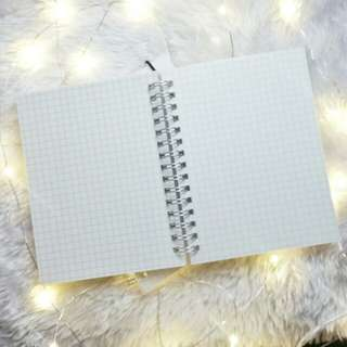 A6 | Muji Inspired Grid Notebook