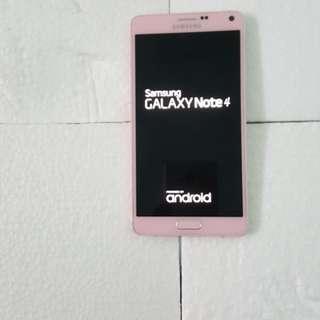 Note 4 32GB. Korean version. Nice condtion