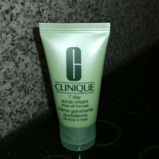 BN Clinique 7 day Scrub Cream