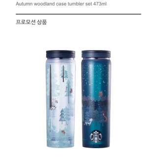 Starbucks Korea Autumn Woodland Set
