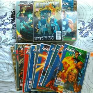 Ultinate fantastic four complete single issues set