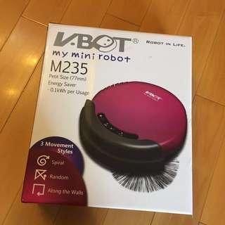 全新 V BOT 自動吸塵機械人,以後不用自己動手吸塵!(Model: M235)原價$2088