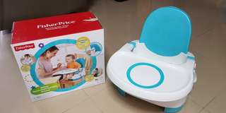 Deluxe protable booster / feeding chair