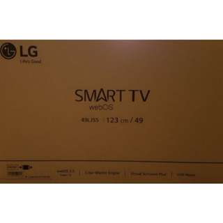 "BRAND NEW LG 49"" Full HD Smart Tv 49LJ550T"
