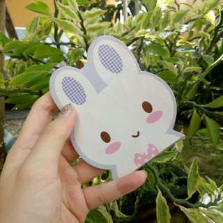 Mini Rabbit Notebook