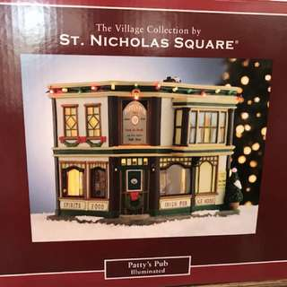 Christmas village houses-USA outlet
