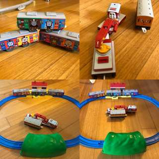Thomas and friends battery train set
