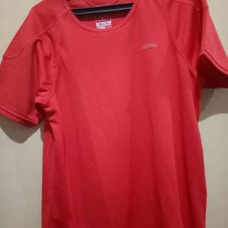 Red shirt dri-fit style