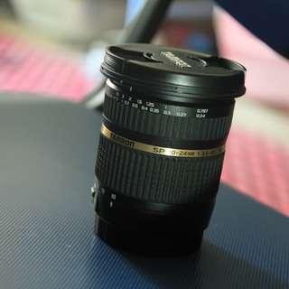 Tamron 10-24 f3.5-4.5 Dii SP (Canon mount)