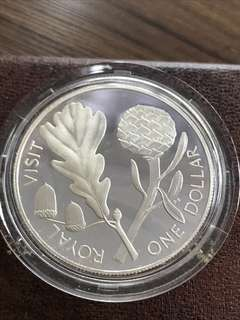 New Zealand 1981 Silver Proof Coin