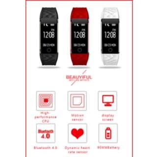 Smartband Wristband Smartwatch Heartbeat Sleep Monitor Fitness Tracker