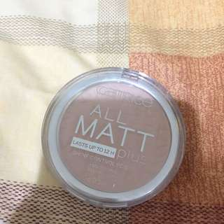 Catrice All Matt Compact Powder