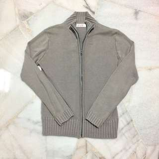 Women's Zip Cardigan (Grey)