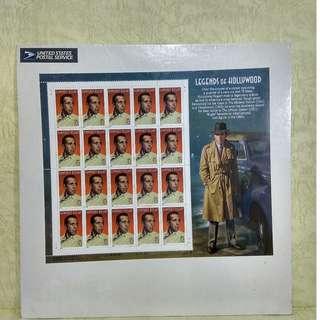 usa stamp-souvenir set